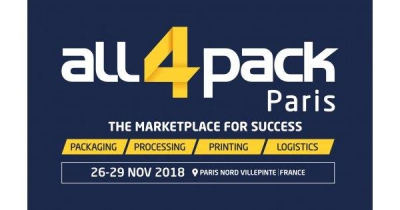 ALL4PACK Paris Nord  Villepinte 2018